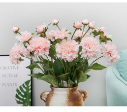 Flores artificiais Seda Peony para Tabela de Casamento Centerpieces