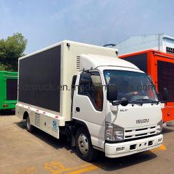 Isuzu Chariot Mobile extérieur fixe téléviseur LED écran/camion à affichage LED