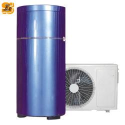 Evi Air à l'eau de la chaleur solaire pour basse température de la pompe