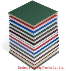 Lámina de plástico HDPE placa de plástico de la placa de la Junta de HDPE y el bloque