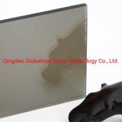 4mm, 5mm, 5.5mm, 6mm 8mm graues/hellgraues /Smoke-graues reflektierendes Eurofloatglas