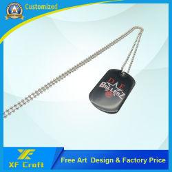 Высококачественный металлический логотип Dog Tag, ПЭТ-Tag (DT09-C)