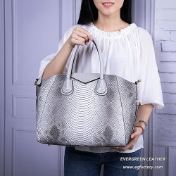 Modische Form-große Kapazitäts-Entwerfer-Frauen-Krokodil-Muster PU-Handtascheluxuxtote-Beutel Sh548