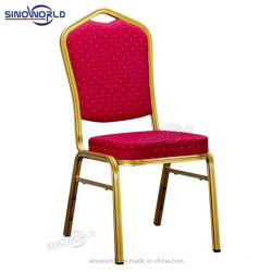 يكدّس ألومنيوم حديد معدن مطعم يتعشّى عرس فندق مأدبة كرسي تثبيت