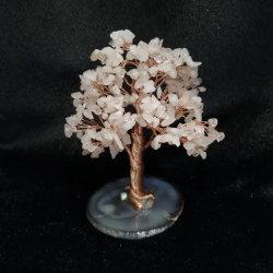 유일한 디자인 실제적인 마노 칩은 원석 나무를 조립했다