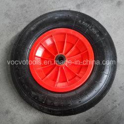 4.00-8 정원 외바퀴 손수레를 위한 압축 공기를 넣은 고무 바퀴