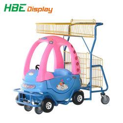 Les enfants en plastique de supermarché voiture jouet des enfants Panier Le panier sur la vente