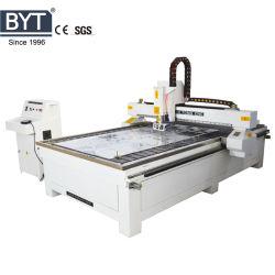 스테인리스 금관 악기 알루미늄 아크릴 나무 PVC 절단을%s 금속과 비금속 절단 3D 조각 CNC 대패 기계 및 세륨과 SGS Bmg-1325m를 가진 조각
