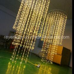 Decoratie van het Kristal van Kerstmis de Lichte voor de LEIDENE van het Ontwerp van de Verlichting van het Festival Lichten van het Gordijn
