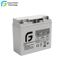 12V 17ahの電話料金のための再充電可能な密封された鉛酸の小さい電池