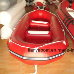 Liyaのいかだのセリウムが付いている膨脹可能なボートのウォーター・スポーツのボート