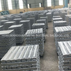 Lingote de aleación de aluminio estándar 99.7 lingotes de aluminio magnesio puro lingote