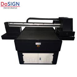 Marcação de grande formato A0 digital de mesa impressora UV com verniz