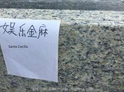 La Piedra Natural/Santa Cecilia encimera de granito prefabricados losas y azulejos de la vanidad o la parte superior de la Encimera/Superficie sólida