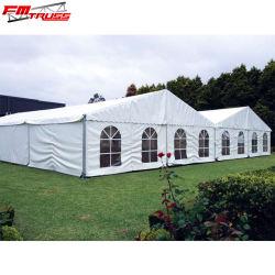 Parti de plein air tentes de luxe avec doublure Décoration Rideau