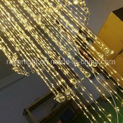 LED luces de Navidad de cortina de cristal para decorar el Festival de diseño de iluminación