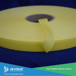 Fácil de colores cinta como material para la toalla sanitaria