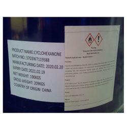 中国メーカー CAS No. 108-94-1 Liquid Cyclohexanone 99.95%