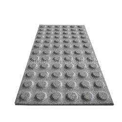 La piedra natural de granito gris G603 ciego Empedrado Piedra de jardinería paisajística