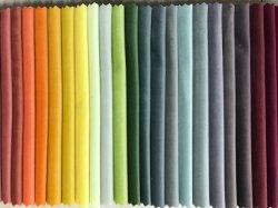 Истощения списков Warp вязания Super мягкого бархата диван ткань
