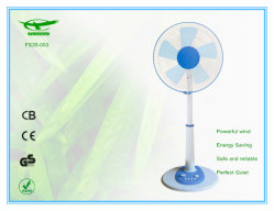 Home Fs35-003를 위한 녹색 Color Height Adjust Stand Table Fan
