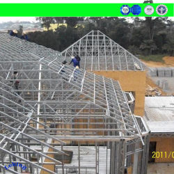 China Novo Design Modular o baixo custo durável acomodação prefabricados Recipiente Prefab House pela estrutura de aço
