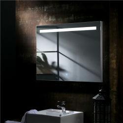Светодиодный индикатор для макияжа в ванной комнате стекло зеркала заднего вида с помощью света