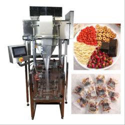 Granule de pesage à fonctionnement entièrement automatique forme verticale Vffs Remplissez le joint de l'emballage de la machine pour la pomme de terre/Chips/Pâtes/collations des haricots