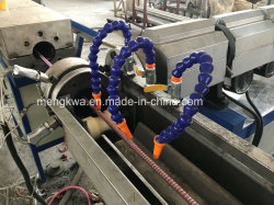 Ducha reforzado con fibra de PVC maquinaria de fabricación de tubos