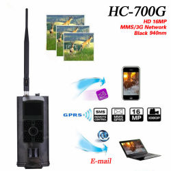 3G Network hc-700g met MMS SMTP SMS GPRS Wildlife Trail Hunting Scouting Camera