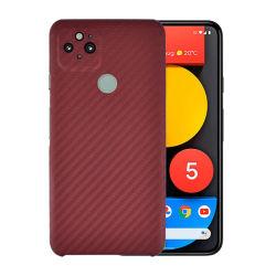 Het nieuwe Geval van de Telefoon van de Vezel van Aramid van de Kleur voor Google Pixel 5 de Dekking van de Telefoon de Mobiele Toebehoren van de Telefoon