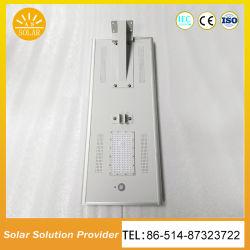 1대의 센서를 가진 옥외 태양 가로등에서 60W 통합 LED 전부