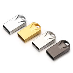 Новый металлический диск USB Flash памяти Memory Stick™ Водонепроницаемый мини флэш-накопитель USB