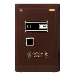 Casa segura con cerradura de huella dactilar depositar efectivo/Decuments Cajas de seguridad