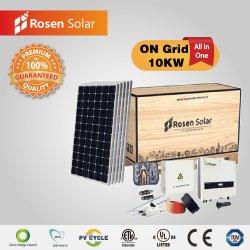 Rosen 10kw sur grille de systèmes d'Énergie solaire Énergie solaire