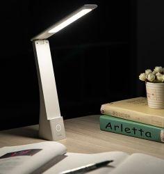 Estudo portátil recarregável amiga do candeeiro de secretária Office Home Quarto candeeiro de mesa de leitura