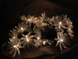 Decoration LightのためのLEDとの照るSilver Lotus