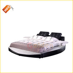 شعبيّة ليّنة جلد منزل منتوجات سرير مستديرة 2918-1#