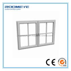 Rotomeye Design 음향 단열재 플라스틱 PVC 이중 스윙 유리 케이스 창