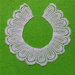 Collar de prendas de vestir decoración de encaje de algodón (CN03)