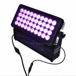 40X10W RGBW piscina DJ LED de cor da Cidade Luz de Mudança de cor