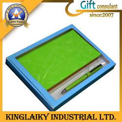 Ordinateur portable professionnel personnalisé avec un stylo pour cadeau (P018)