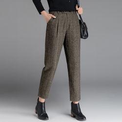 Última Projetado Basic Office Senhoras Straight-Leg calças personalizadas