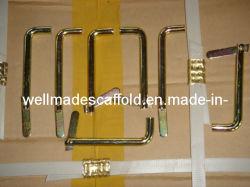 La construction d'échafaudages Accessoires Système de châssis d'Échafaudage basculer la broche