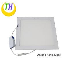 Châssis en aluminium blanc encastré SMD Plafonnier carré réglable 36W du panneau de rétroéclairage par LED