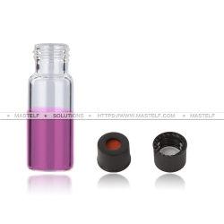 모자 격막을%s 가진 Mastelf 최신 판매 13-425 4ml 유리제 작은 유리병