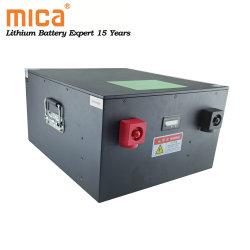 مجموعة بطارية LFePO4 سعة 12 فولت وسعة تخزين الطاقة الشمسية Lithium 7.5kwh 15 kwh Solar Cabinet