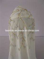 Мусульманского хиджаба шаль ручной жемчужина