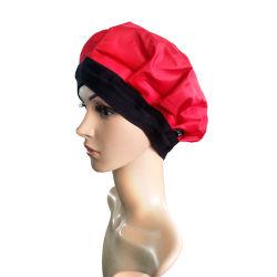 Glのコードレス深い調節の熱の帽子-毛のスタイルを作ることおよび処置の蒸気の帽子の熱療法および熱鉱泉の毛の汽船のゲルの帽子-黒