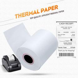 Personaliza los tamaños de papel Caja Registradora de 57mm 80mm de recepción térmica rollos de papel